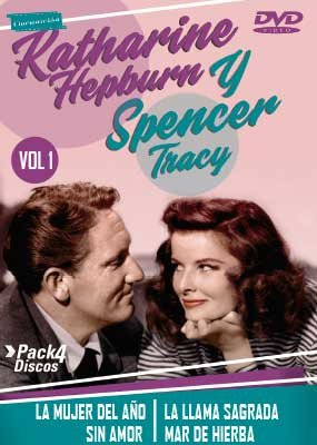 KATHARINE HEPBURN Y SPENCER TRACY VOL.1 (4 Discos)