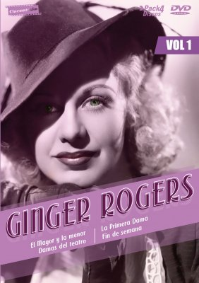 GINGER ROGERS VOL.1 (4 DISCOS)
